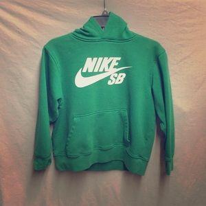 Green Nike sb hoodie
